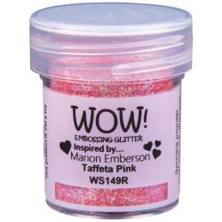 Poudre à embosser Wow - Taffeta Pink (Rose reflets Paillettes)