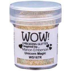 Poudre à embosser Wow - Unicorn Magic (Or reflets Paillettes)