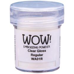 Poudre à embosser Wow - Clear Gloss (transparent)