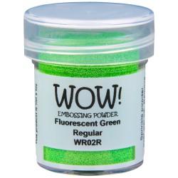 Poudre à embosser Wow - Vert Fluo