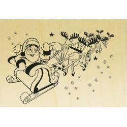 COLLECTION - Noël Rétro - Traineau Père Noel